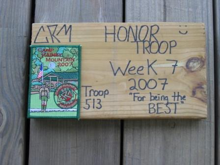 Honor Troop 2007